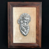 Framed Mid Century Madonna & Child
