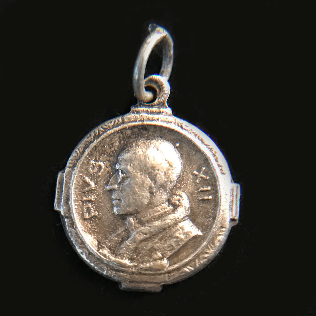 Pope Pius XII Holy Year Medal - The Vintage Catholic
