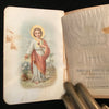 1907 French Pocket Prayer Book with Ivorine Covers - The Vintage Catholic