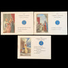 French Catechism Stamp Booklets, Set of Three