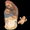 Hand Made Pottery Holy Family