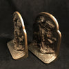 Saint George & the Dragon Cast Iron Bookends