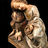 Antique Resting Jesus Statue