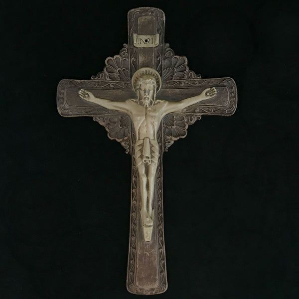 Art Deco Crucifix - The Vintage Catholic