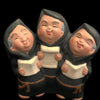 Three Joyful Monks Figurine
