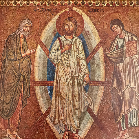 Vintage Icon of the Transfiguration