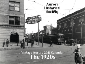 Vintage Aurora 2021 Calendar -- Aurora in the 1920s