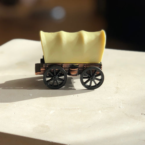 Die Cast Covered Wagon Pencil Sharpener