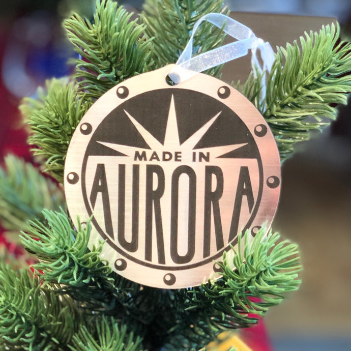 Made In Aurora Ornament