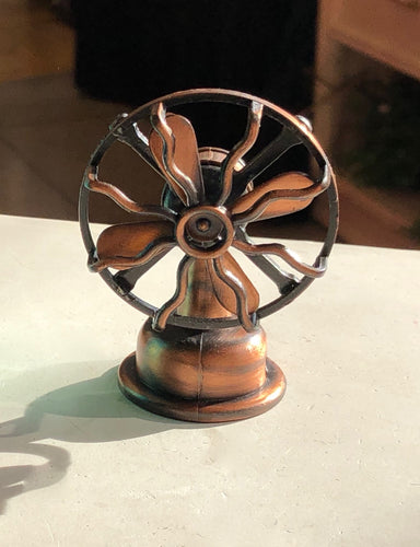 Die Cast Antique Fan Pencil Sharpener
