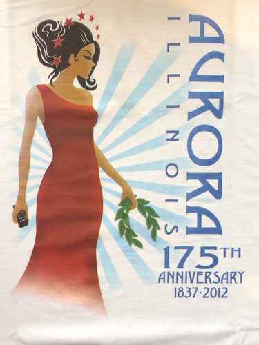 Aurora Goddess 175th Anniversary T-Shirt - Large