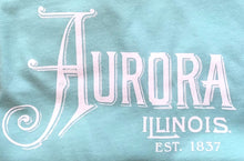 Load image into Gallery viewer, Ladies Aurora, Illinois V-Neck Tee