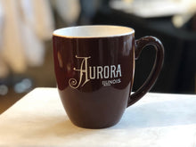 Load image into Gallery viewer, Aurora, Illinois Ceramic Mug