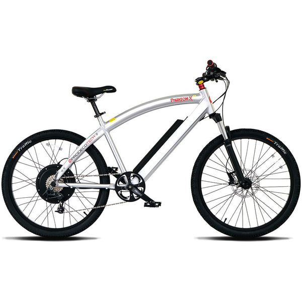 Phantom XR 400 Electric Bike in Black or Silver