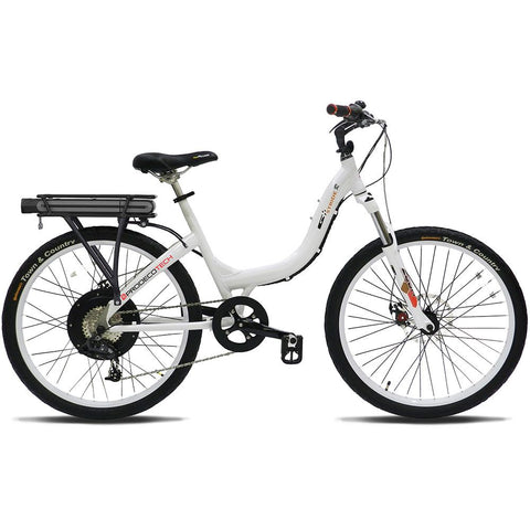 Stride 500 White Electric Bike