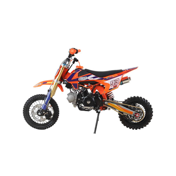 110cc Upbeat 4 stroke petrol Pit Bike with Electric start