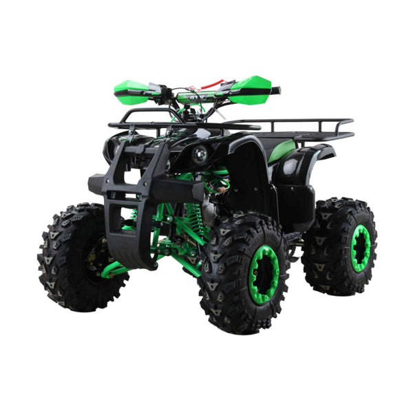 125cc Monster Quad Bike with Racks Green