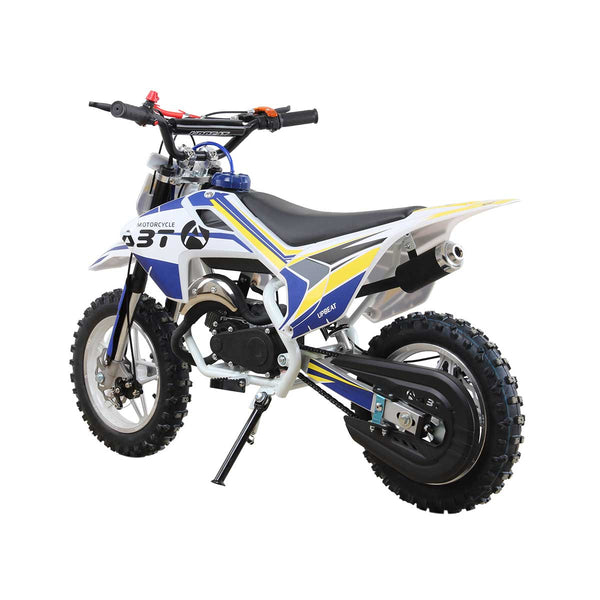Limited edition Upbeat White Pearl -49cc Kids Dirt Bike