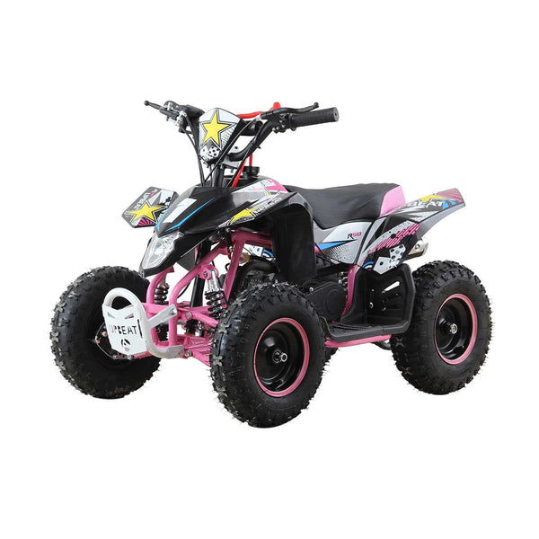 50cc Rockystar Quad Bike for Kids - Limited Edition Pink