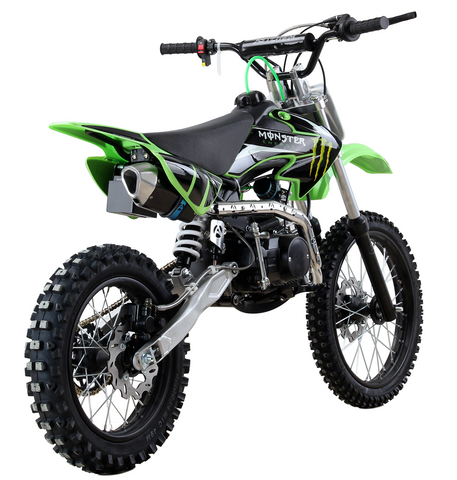 Monster 70cc Junior 4 stroke Petrol Dirt-Bike With Electric Start