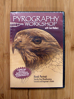 Pyrography Workshop DVD ( 2 DVD Set )