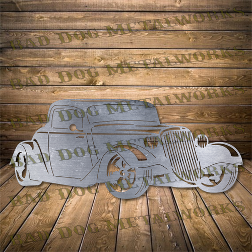 1933 Hot Rod - Svg and Dxf