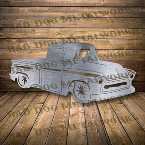 1957 Chevy Truck - Svg and Dxf