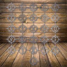 Load image into Gallery viewer, Compass Monogram - Personalized Home Decor