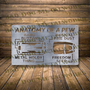Anatomy of a Pew - Svg and Dxf
