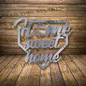 Baseball Home Sweet Home - Dxf and Svg