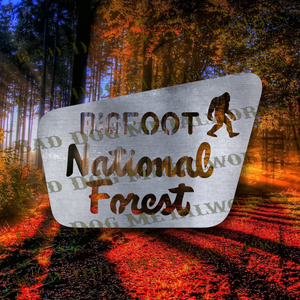 Bigfoot National Forest - Svg and Dxf