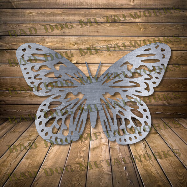 Monarch Butterfly - Svg and Dxf