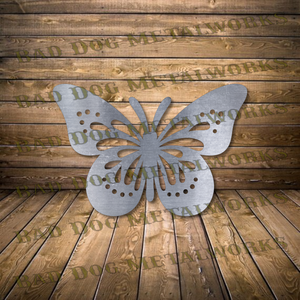 Decorative Garden Butterfly - Svg and Dxf