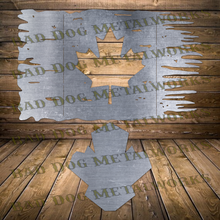 Load image into Gallery viewer, Tattered Canadian Flag - Svg and Dxf