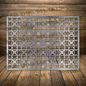 Decorative Panel - Dxf and Svg