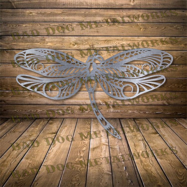 Decorative Dragonfly - Svg and Dxf