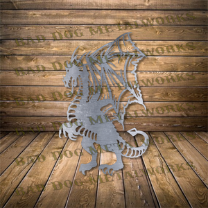 Dragon - Svg and Dxf
