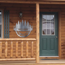 Load image into Gallery viewer, Logging Monogram - Cabin Decor