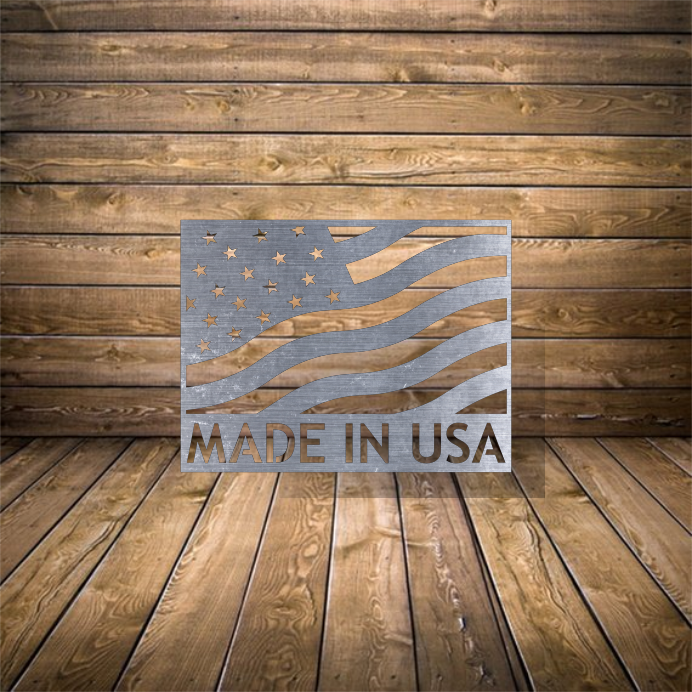 Made in USA Flag - SVG and Dxf