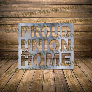 Proud Union Home - Dxf and Svg