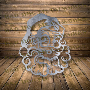 Vintage Santa Claus - Dxf and Svg