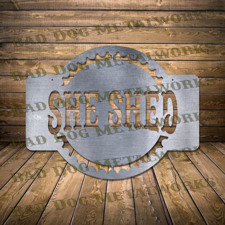 She Shed Gear - Dxf and Svg