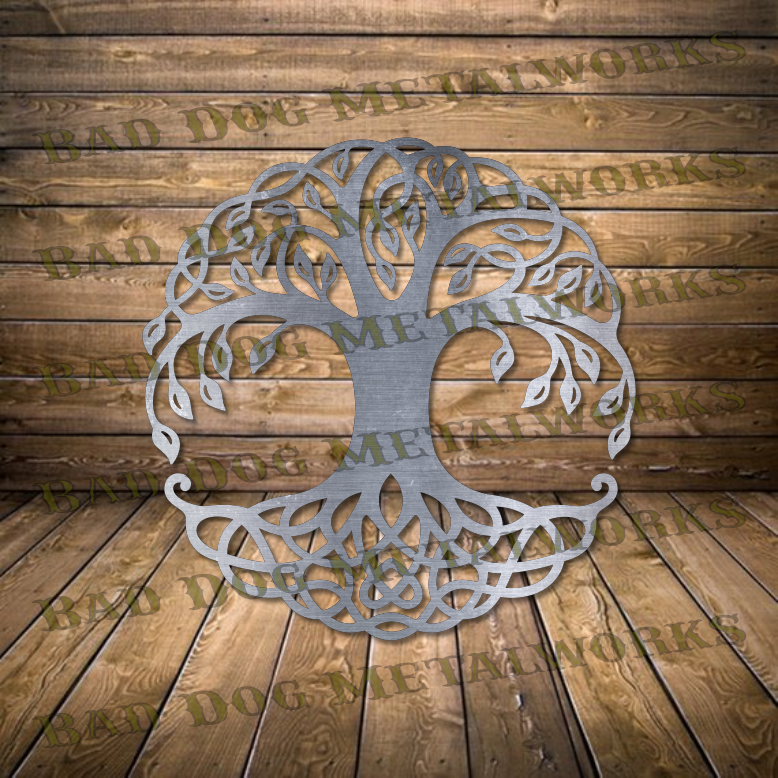 Celtic Tree of Life - Svg and Dxf