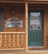 Load image into Gallery viewer, Welcome to our Cabin - Welcome Sign