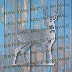 Big Buck Deer - DXF and SVG File