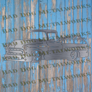 Fall Pumpkin Pickup Truck - Svg and Dxf