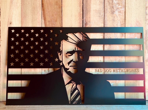 Donald Trump Flag - Trump 2020 Patriotic Decor