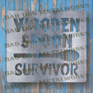 Wooden Spoon Survivor - Dxf and Svg