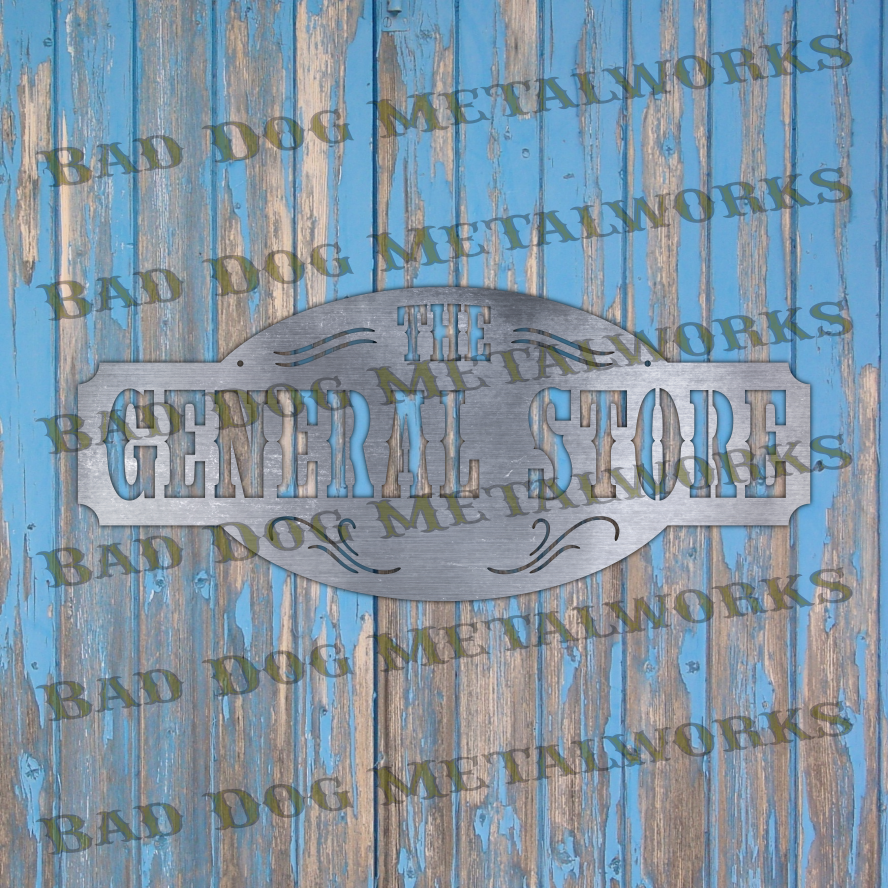 The General Store Sign - Svg and Dxf