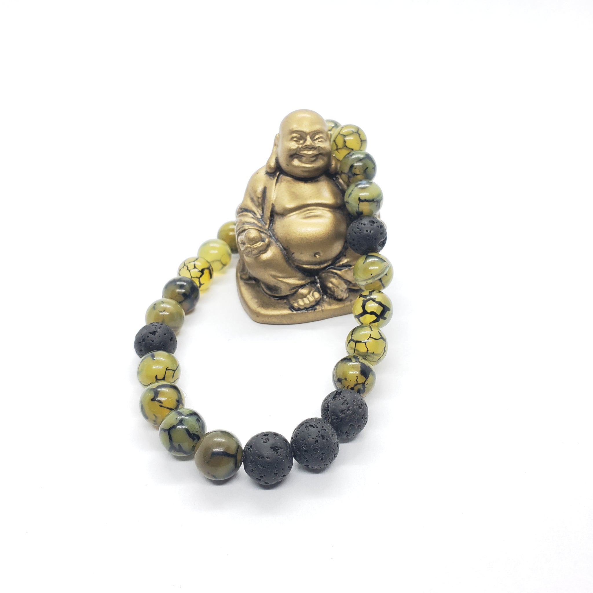 Le Bracelet Dragon Bracelet Mala Force - Protection - Nohprec Experience
